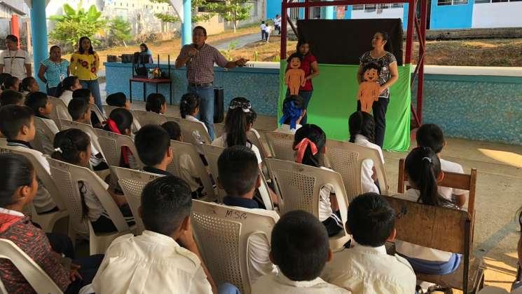 Previene SSPO en escuelas de Oaxaca abuso sexual infantil