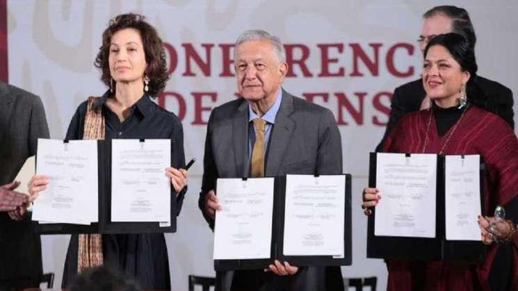 Firman convenio con la Unesco para el rescate de lenguas originarias